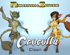 Acheron Crocotta Clean 3D asset
