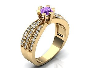 3D print model Golden Luxurious Ring BK390