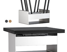 3D model Mesa de centro transformable table Sedit Mesita 2