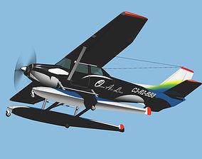 Sea Plane Ocean Air Line update model 3D