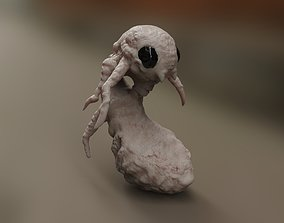 worms creature 3D
