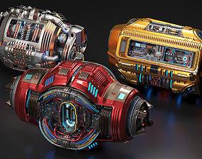3D model Sci Fi Kitbash 3 Mega Elements Collection