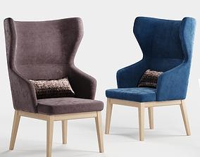 Sandler Seating Eleanor 53 Armchair 3D