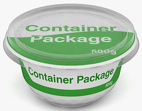 design 3D model container package