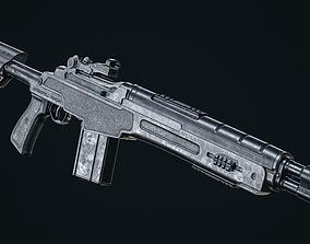 Springfield M1A 3D model