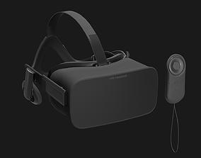 VR Headset 3D asset PBR