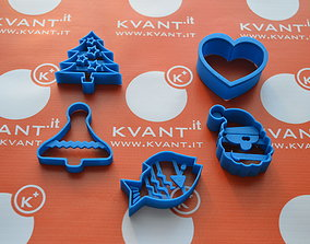 3D print model cooking cutters