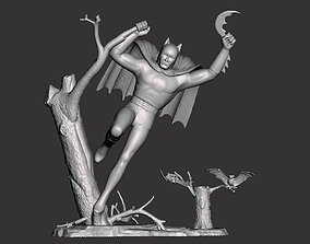 AURORA BATMAN model kit scan