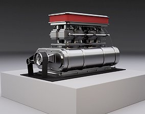 Supercharger type E 3D model