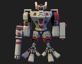 3D asset Tau Crisis Suit