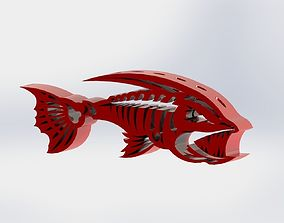 3D printable model ANGRY FISH PENCIL HOLDER