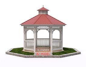 Gazebo canopy 3D model