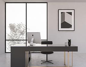 Office Desk 07 3D