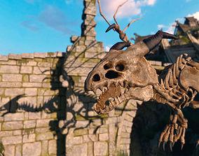 3D asset Bone Dragon Pack PBR