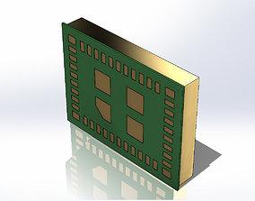 Plate LBEE5KL1DX - Placa LBEE5KL1DX 3D