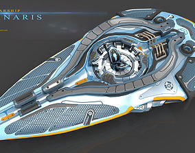 Luminaris Starship 3D model