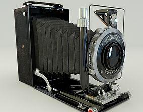 3D model Voigtlander Bergheil Compur video