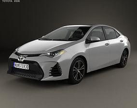 Toyota Corolla SE US 2013 3D