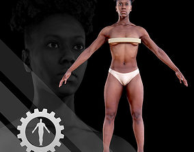 3D model Female Scan - Tiana