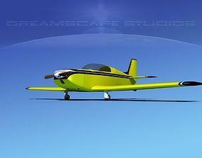 Ken Rand KR-2 V02 3D model