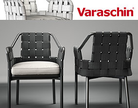 3D model Varaschin obi chair