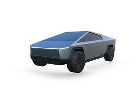 Cybertruck Tesla 3D asset