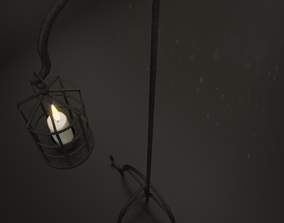 Church Aisle Lantern 3D model