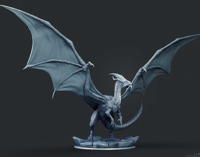 3D print model Elder White Dragon