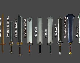 3D asset Finite Arms - Bundle