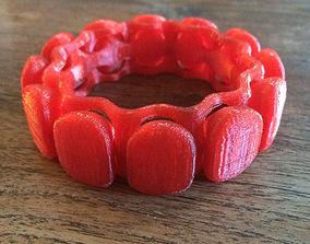 Bracelet interlaced 3D print model