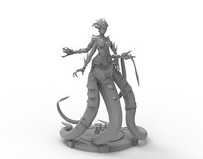 3D printable model Snake Woman Creature