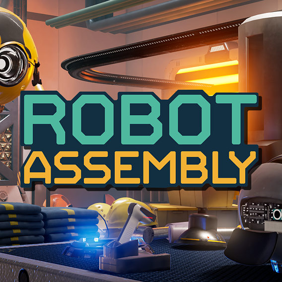 Robot Assembly - Lighting, Shading and Techart
