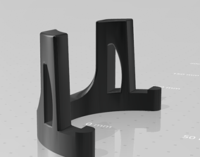 Universal phone and tablet holder 3D printable model
