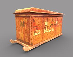 Egyptic Sarcophagus 3D asset