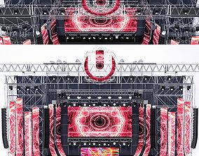 3D model EDM Concert Stage