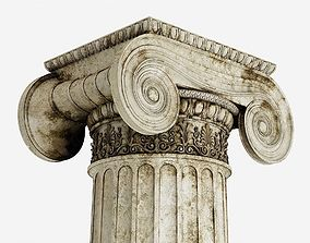 3D Column Greek Erechtheum
