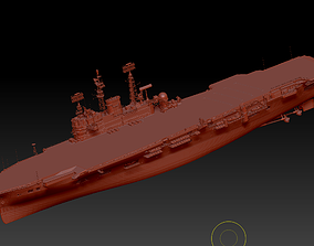 HMS Ark Royal R09 3D