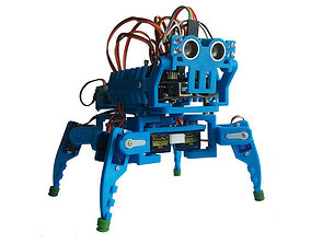 Mini quadruped MK II 3D print model