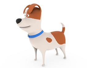 3D model Cute Dog cartoon - Max