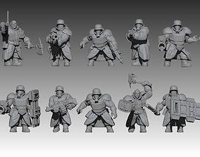 Mechanized Ogres 3D print model