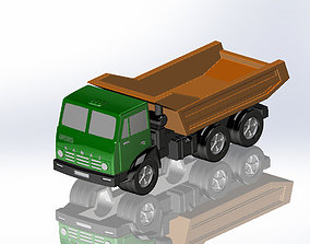1987 KamAZ 3D Model For Printing