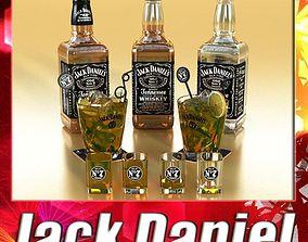 Jack Daniels Collection 3D