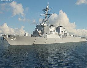 3D model USS Arleigh Burke DDG-51