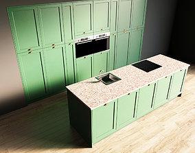 3D model 2-Kitchen2 matte 1