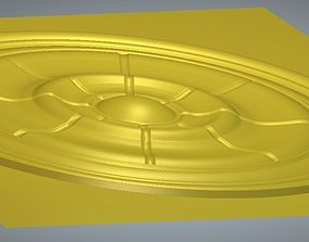 Decorative circle 3D stl model