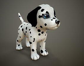 Dalmatian 3D model realtime