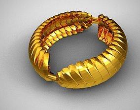 jevel 3D print model Leaf Ring