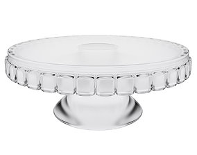 3D model Glass cake stand
