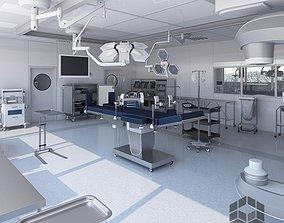 3D model Medical Operating Room