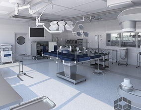 Medical Operating Room 3D